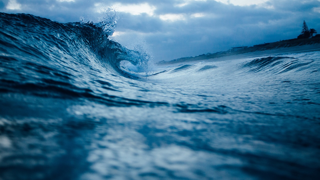 ocean wave, water, ocean